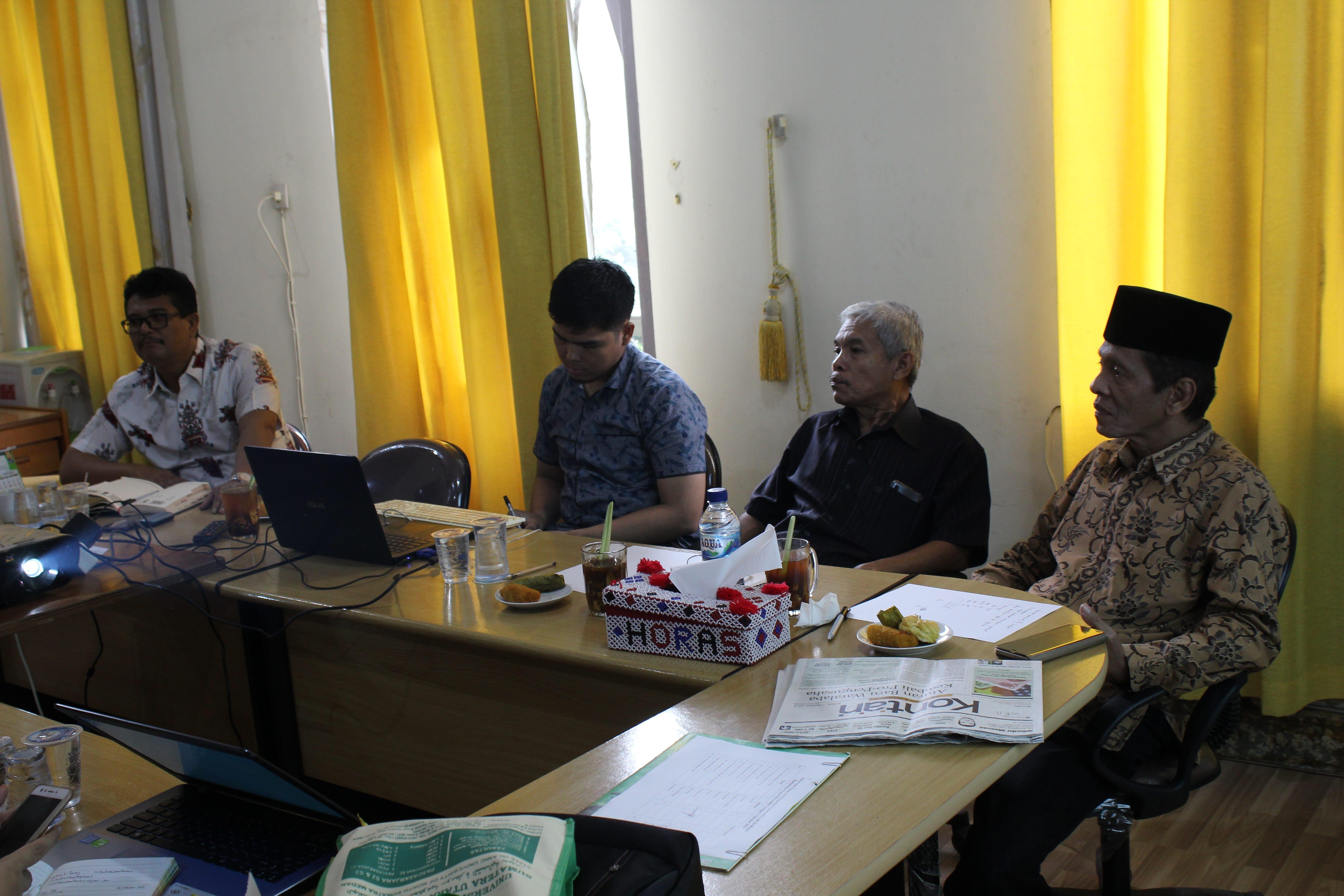 Rapat UIN SU Medan, Kamis 03 Oktober 2019