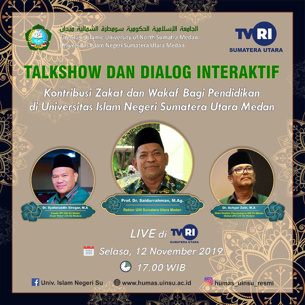 Talkshow dan Dialog Interaktif